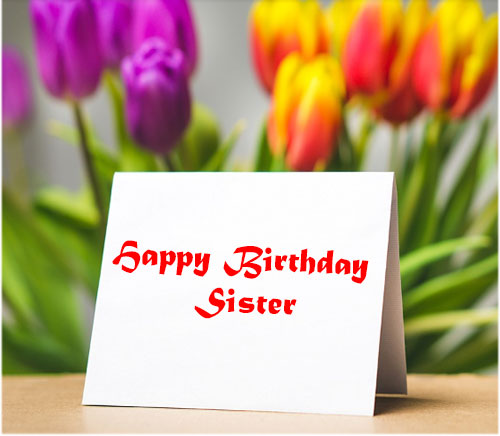 Happy Birthday Sister Images hd download free