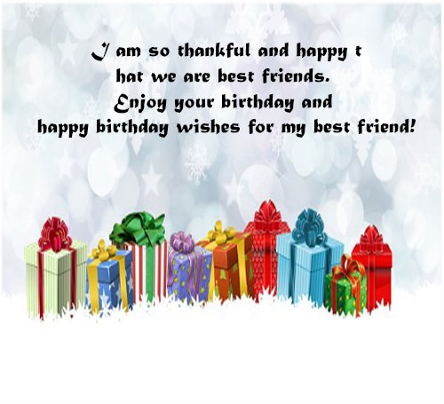 Happy birthday image with messages for best friend hd download