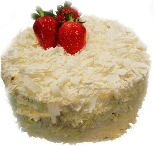 HappyBirthday Cake Images with strawberry