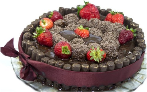 Chocolate cake with birthday wishes Wallpaper Photo Pictures Pics for download free