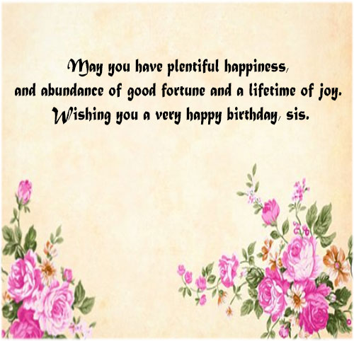 Happy birthday photo pics for sister free hd download