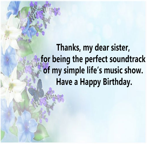 Happy Birthday Sister images picture photo pics with messages for whatsapp status