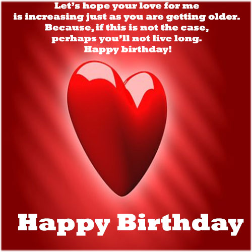 Happy birthday message with images for boyfriend