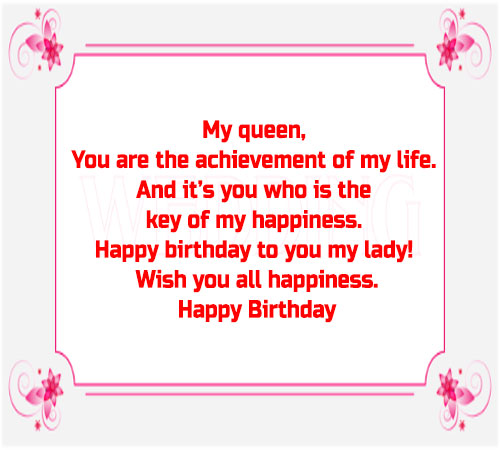 Birthday images for girlfriend with wishes