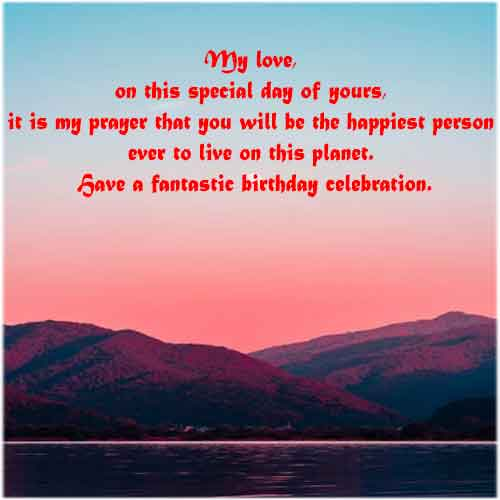 Happy Birthday Blessings from Heart