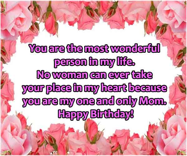 Birthday Quotes For Mom From Daughter