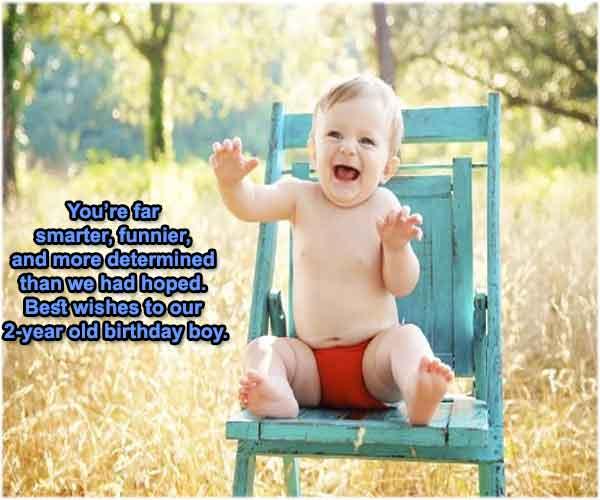 Birthday Wishes For Baby Boy 2nd Birthday