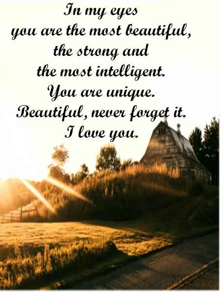 Good Morning I Love You Quotes