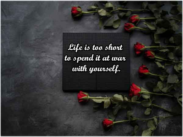 Short Self-Love Quotes