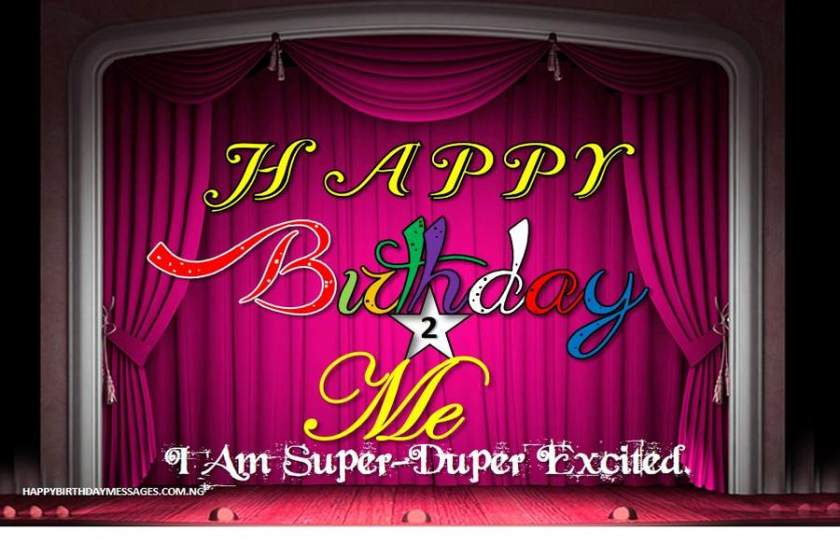Heartfelt Birthday Wishes for Myself