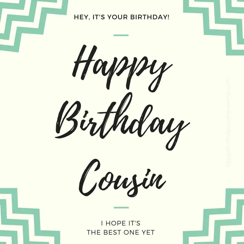 120 happy birthday cousin