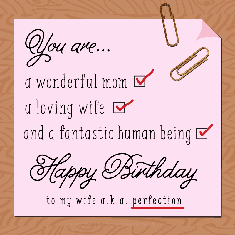 140 Birthday Wishes For Your Wife Find Her The Perfect