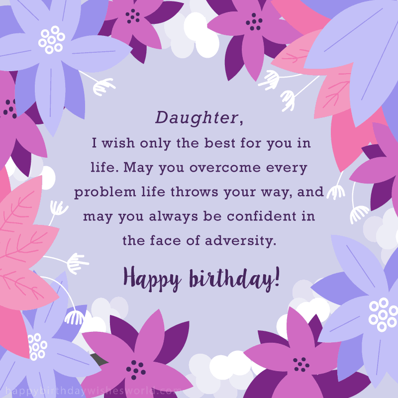 Beautiful Quotes For My Daughter On Her Birthday