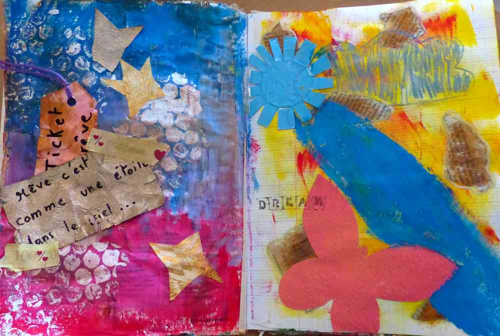 L'Art Journaling de Pitchoune