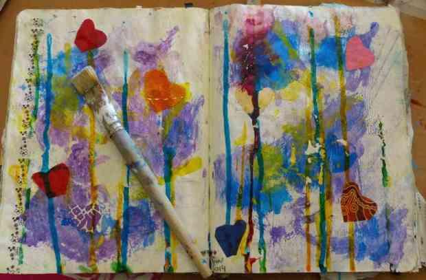 hb-art journaling 5