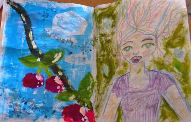 hb-art journaling 8