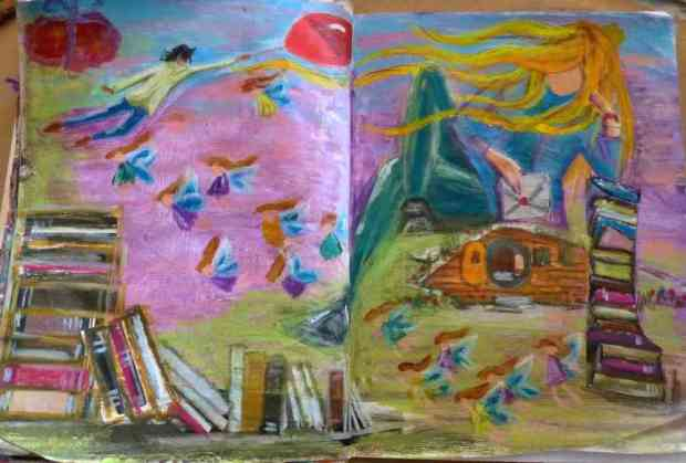 hb-art journaling 9