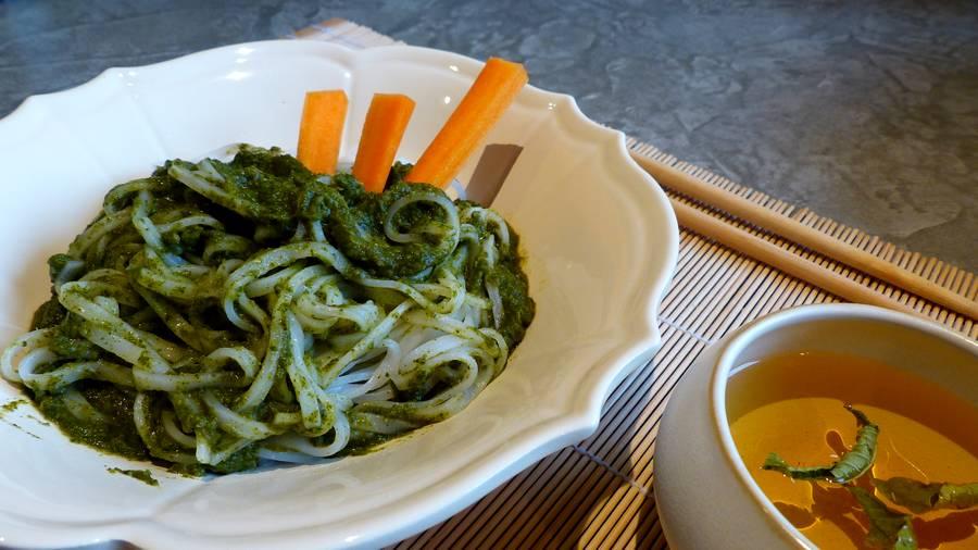 Nouilles Thaï à la Potagère - sans gluten - vegan