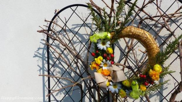 couronne pâque, printemps, diy, déco