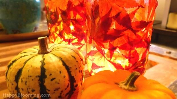 diy automne photophore halloween