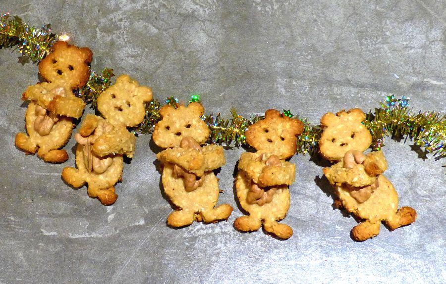 Bredele de Noël - pâte sans beurre sans gluten - recette facile