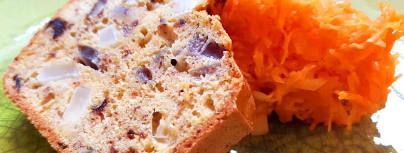 Cake au navet pécan olives happyblooming