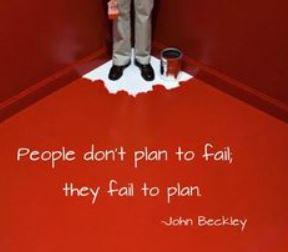 Plan to fail 1