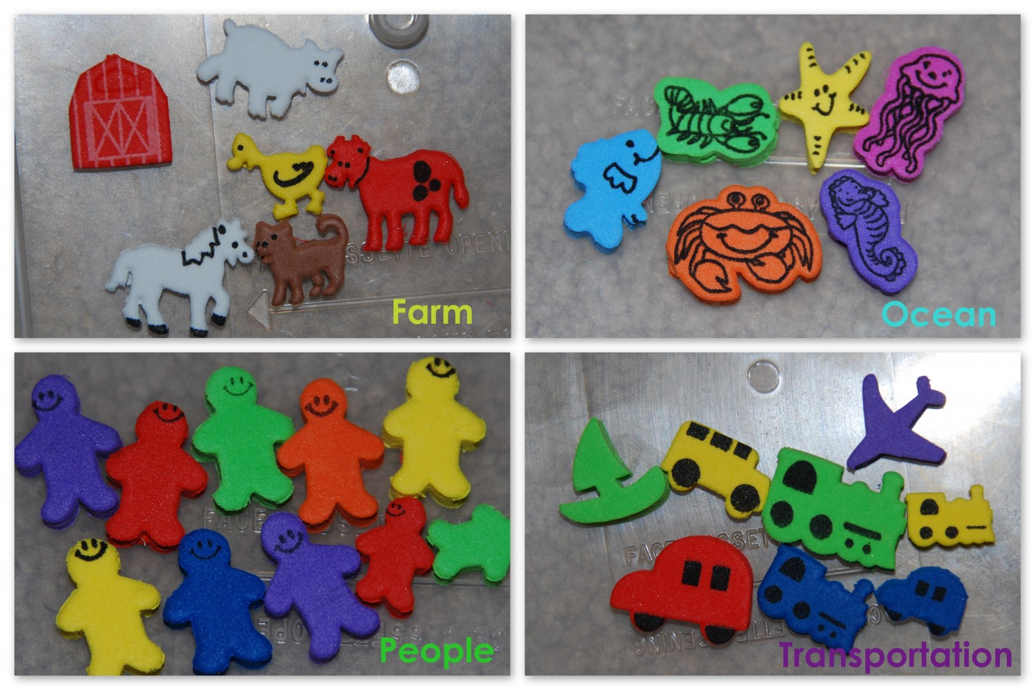 Preschool Sorting Activities With Muffin Tins
