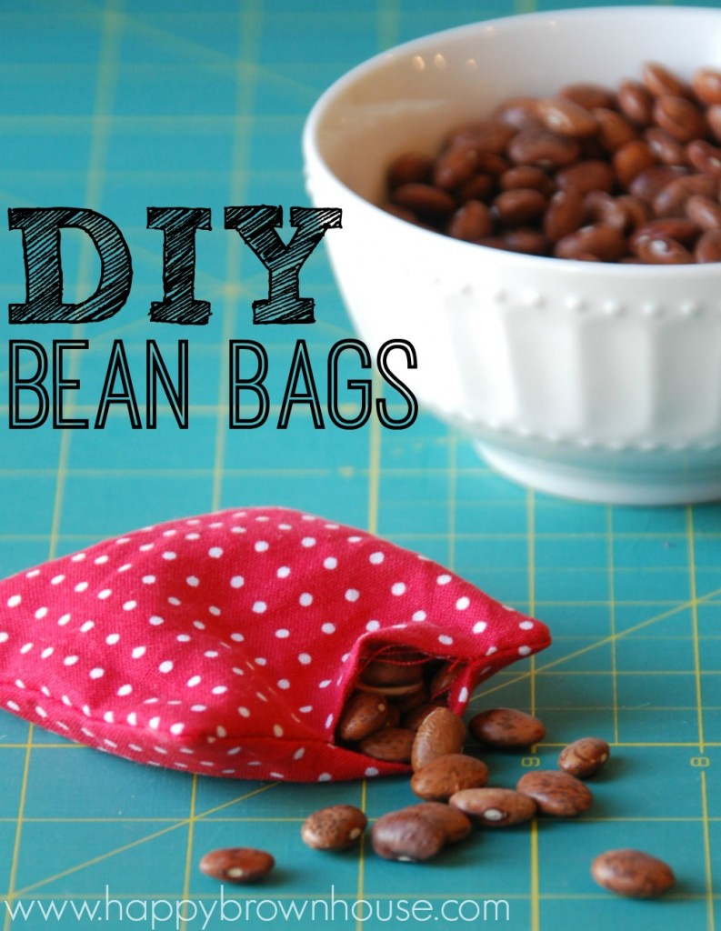 How to Make DIY Bean Bags Beginner Sewing Project