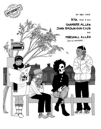 Antigravity Cover. November 2018