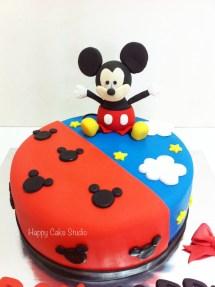 Mickey Mouse Cake Happy Studio