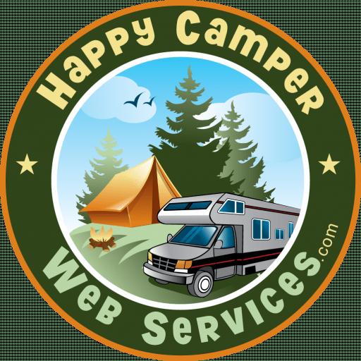 Campground Website Design Logo Image