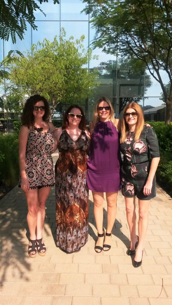 Ladies who brunch! Fabulous friends, old and new xx