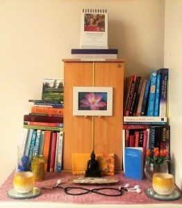 "My spiritual ""altar"" in London"
