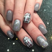 Christmas Acrylic Nail Designs #62 Manicure and Holiday ...