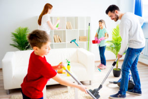 How do I get my family to keep my house clean