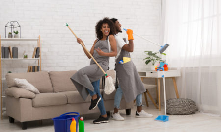How do you disinfect your house