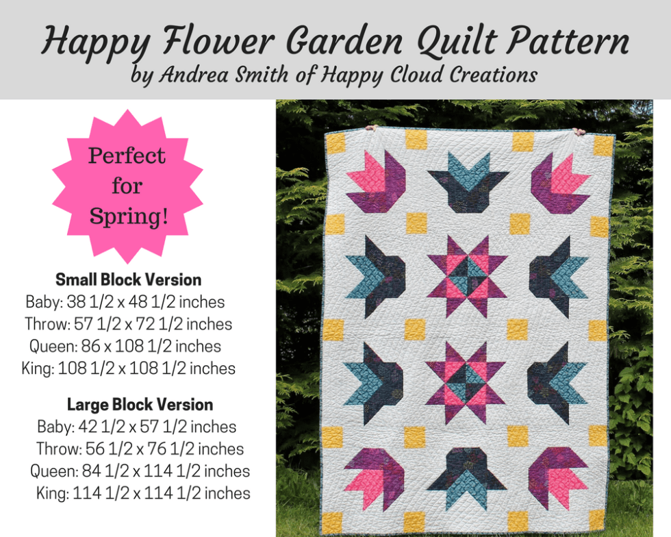 Happy Flower Garden Etsy Image