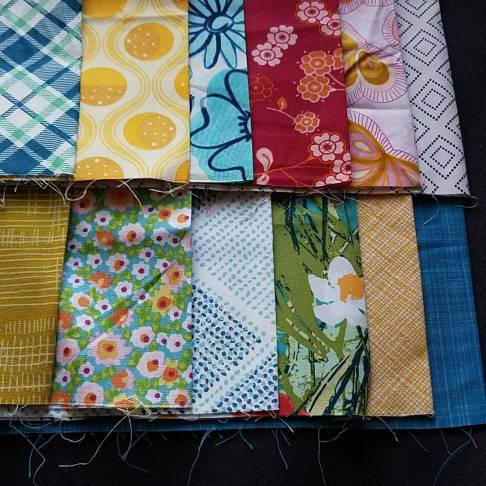 cloudy day quilt sampler