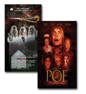 SALE! Razor Days and Tales of Poe limited edition DVDs