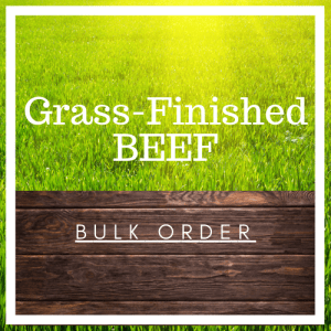 Grass-Finished Beef (Bulk Orders)