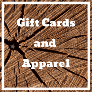 Gift Cards and Apparel