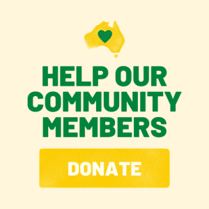 Donate to help serve community members