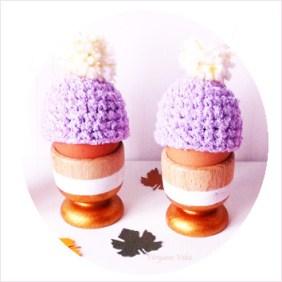 DIY Bonnet Cache-Oeuf au crochet