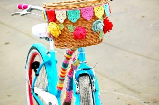 Panier de vélo au crochet