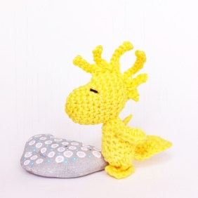 Tutoriel Woodstock au crochet