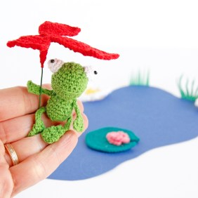 DIY Grenouille crochet