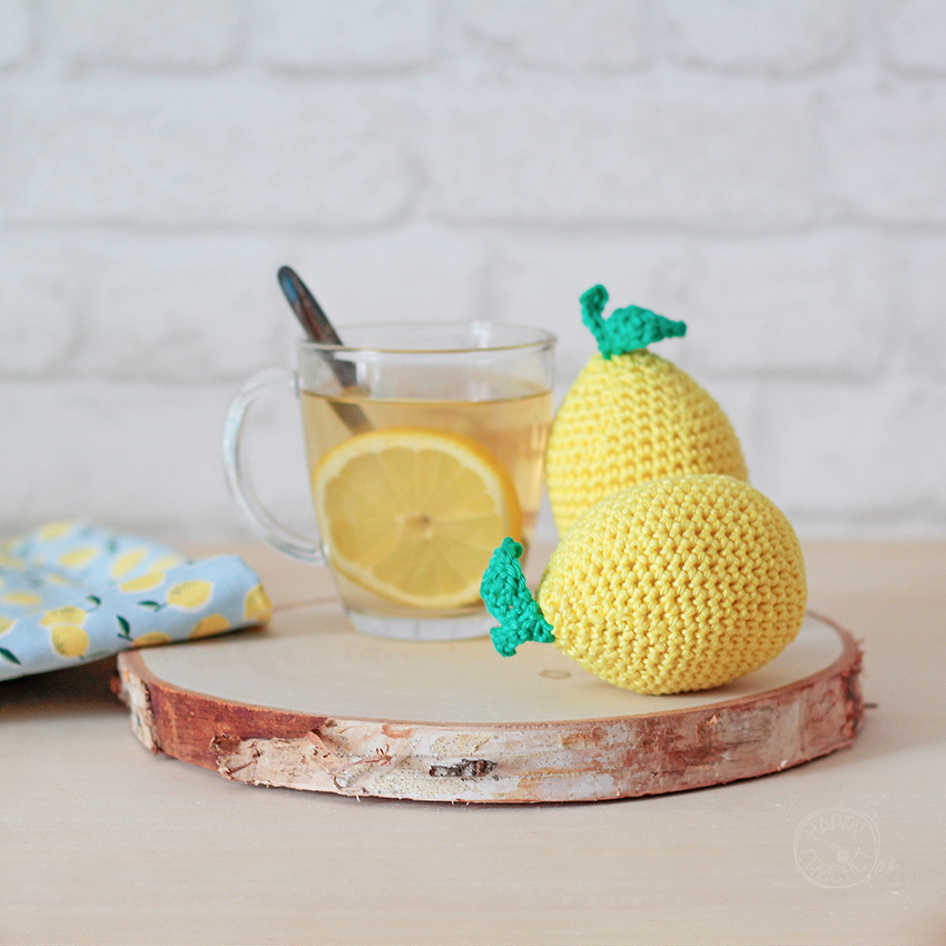 Citron au crochet - Crochet lemon
