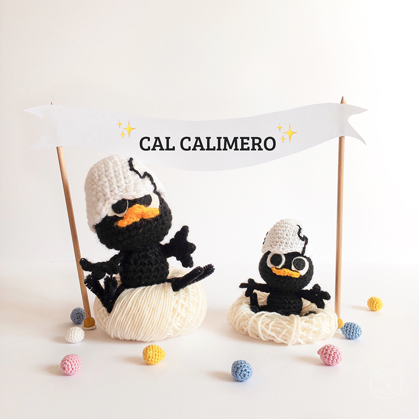 Crochet Along Calimero Amigurumi