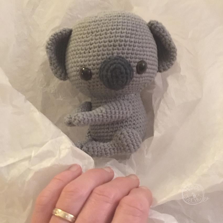 Koala Amigurumi au Crochet